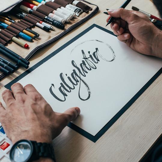 Calligraphie à Nantes